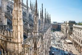 Милано - столицата на модата, самолетна програма с обслужване на български език